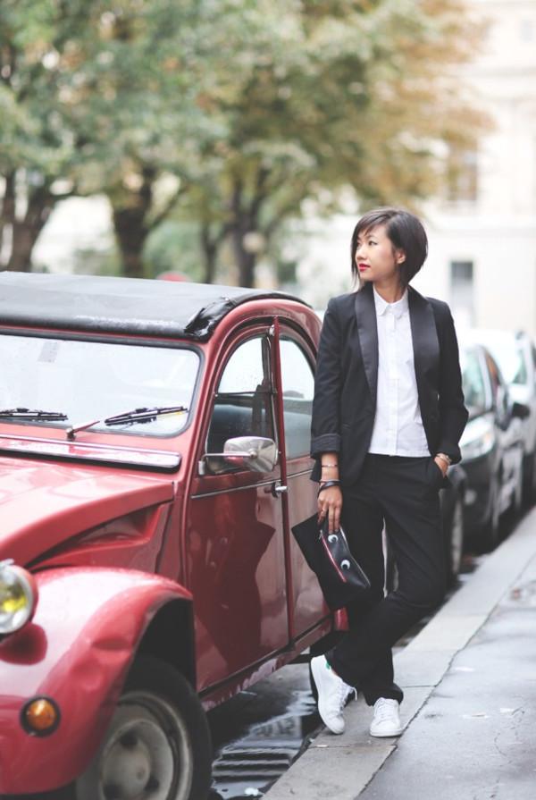 le monde de tokyobanhbao blogger jacket bag