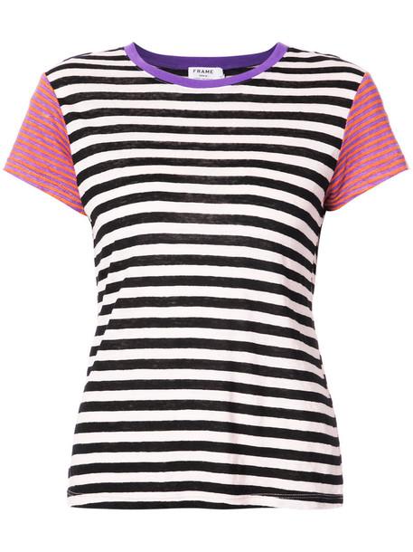 Frame Denim t-shirt shirt striped t-shirt t-shirt women top