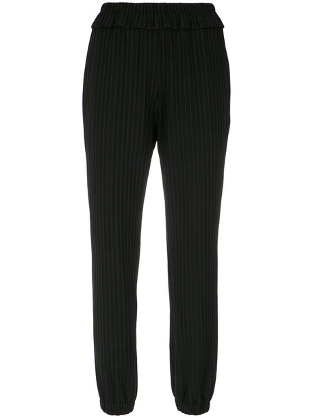 Lilly Sarti - jogging trousers - women - Polyamide/Spandex/Elastane - 40, Black, Polyamide/Spandex/Elastane