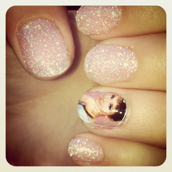 audrey hepburn pink nail polish nails gorgeous decal