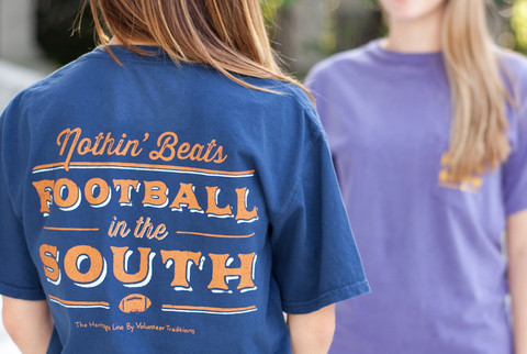 Nothin' beats football in the south pocket tees