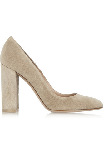 suede pumps pumps suede neutral shoes