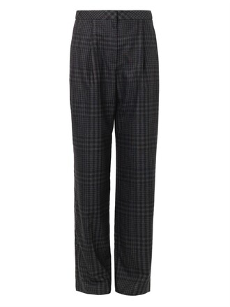 pants wide-leg pants printed pants business professional