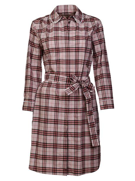 Burberry Agna Check Dress