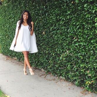 dress coat nasty gal little white dress white