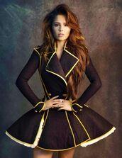 coat,amazing coats,glamour,glamorous coat,glamorous coats,what dreams are made of!,long sleeve coat,fashion,fashionable coat,trench coat,long peacoat,dress,black,yellow,the vampire diaries