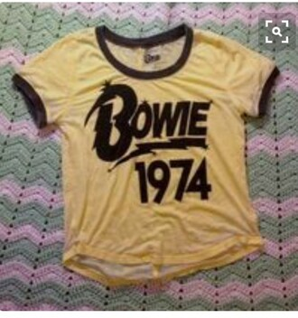 shirt david bowie