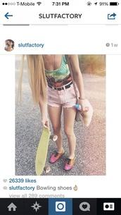 swimwear,one piece swimsuit,girly,High waisted shorts,grunge,nirvana,90s style