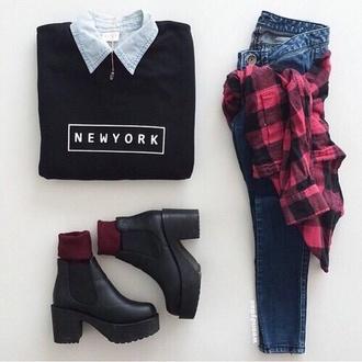shoes kylie jenner black wedges shirt