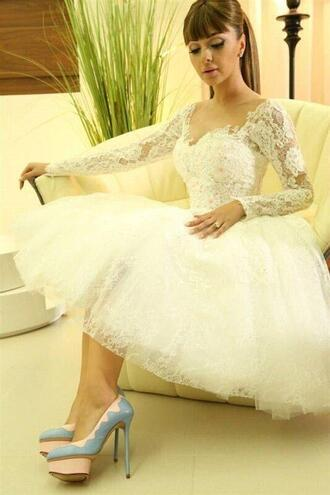 dress long sleeve dress long sleeve lace dress white lace dress shorts lace white short lace prom dresses arabic dresses homecoming dress short homecoming dress