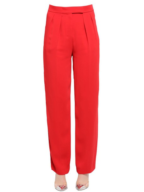 EDUN pants bright red