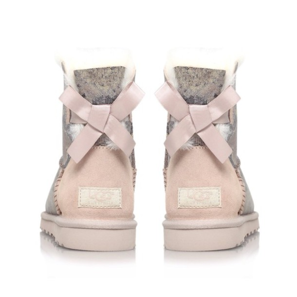shoes, uggs#uggsaustralia, uggs boots bailey bow brown, uggs?, uggs with bows, uggs for sale, cute, bow - Wheretoget