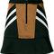 Neil barrett panelled satin mini skirt - farfetch