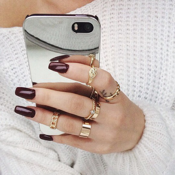 golden phone case silver iphone iphone 4 iphone 5 apple phone cover iphone case