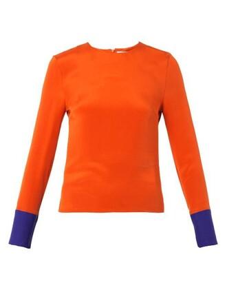 top silk orange