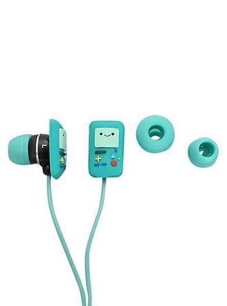 scarf earphones adventure time