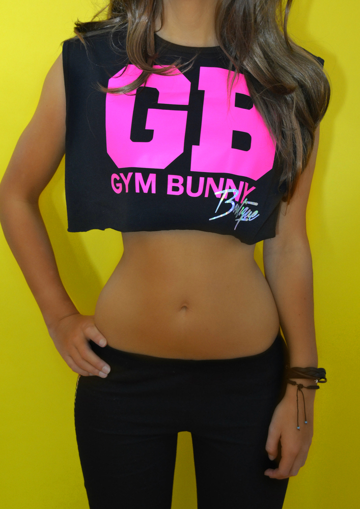 Luxe Cheerleader Limited Edition Cropped Tank Gym