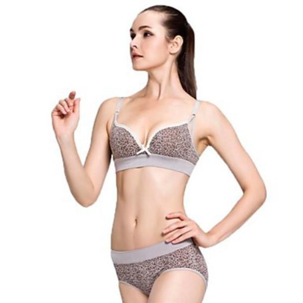 underwear leopard line bra sexy bras leopard underwear sexy lingerie fashion underwear bras sets leopard lingerie