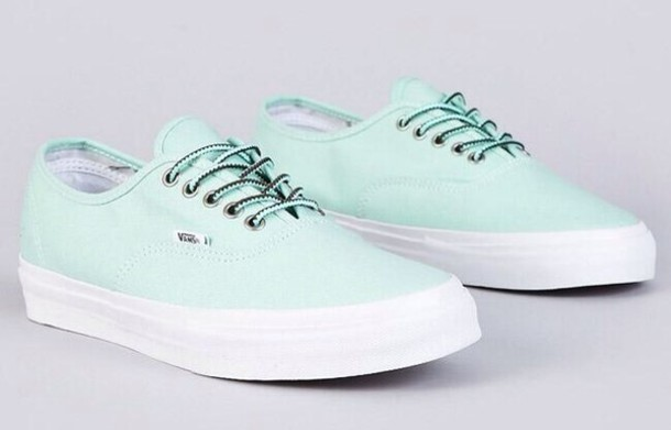 shoes mint mintgreenvans vans mint vanilla vans vans vans mint mint shoes mint vans girly sneakers trainers style turquoise