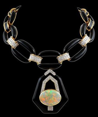 jewels jewelry statement necklace necklace big necklace opal