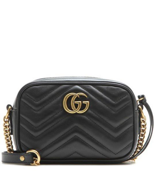 gucci mini bag crossbody bag leather black