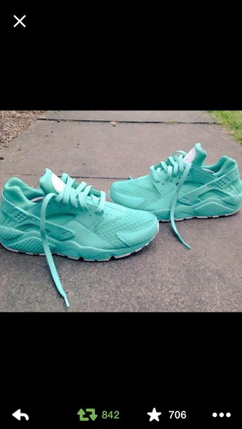 shoes teal sneakers