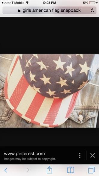 hat summerhat american flag cap tumblr hat american flag hat american flag snapback