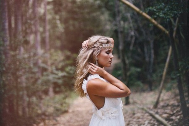 Hair Accessory Blonde Boho Chic Jewelry Hairstyles Makeup Inspo Style Beautiful White