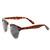 Vintage Inspired Classic Polarized Clubmaster Wayfarer Sunglasses 2936                           | zeroUV