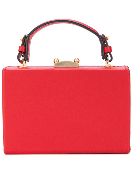 mini women bag mini bag leather red