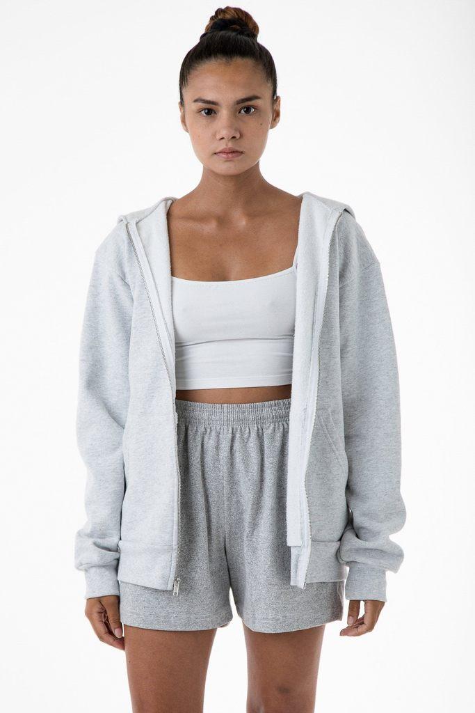 HF10 Unisex - 14oz. Heavy Fleece Zip Up Hooded Sweatshirt
