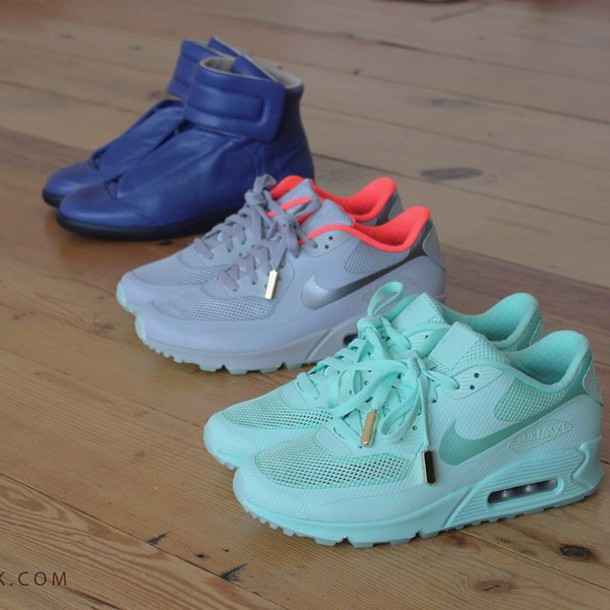 shoes nike mint air max