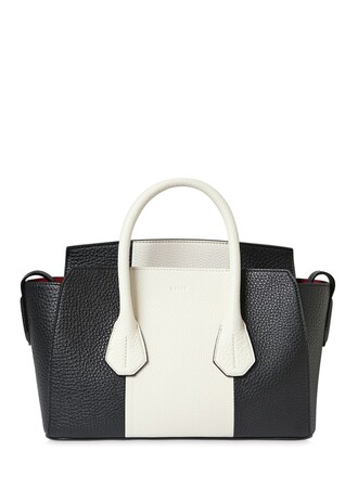 bag leather bag leather white black