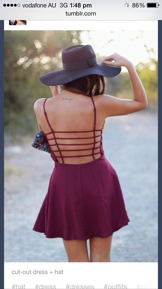 dress backless backless dress cut-out dress