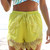 Green Shorts - Bright Olive Green High Waisted | UsTrendy