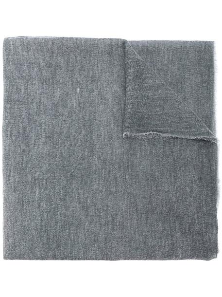 faliero sarti women scarf silk grey
