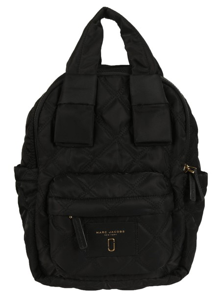 Marc Jacobs quilted backpack black bag