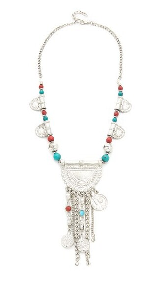 embellished statement necklace statement necklace silver jewels