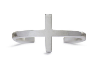 bracelets bangle cross silver cuff jewels
