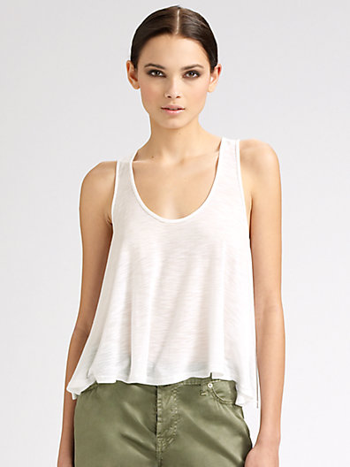 Blue Life - Cropped Tank Top - Saks.com