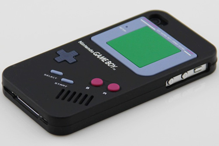 New Skin Gameboy Soft Silicone Case Cover for iPhone4 4G Black | eBay