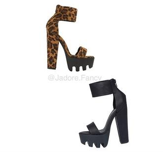 shoes leopard print high heels black high heels heels pumps