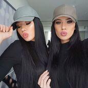 hat,her teen dream,leather hat,faux hat,faux leather hat,cap,gorgeous,model,love,beautiful,make-up,trendy,design,designer,makeup brand,brand,chanel,kim kardashian,kylie jenner,kardashians