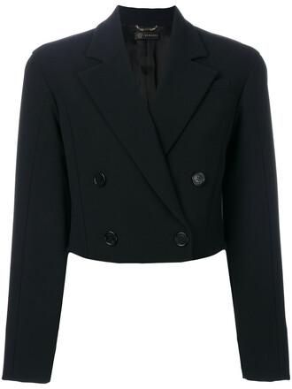 jacket cropped jacket cropped women black