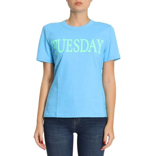 Alberta Ferretti t-shirt shirt t-shirt women blue top