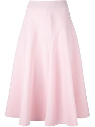 skirt midi skirt midi purple pink
