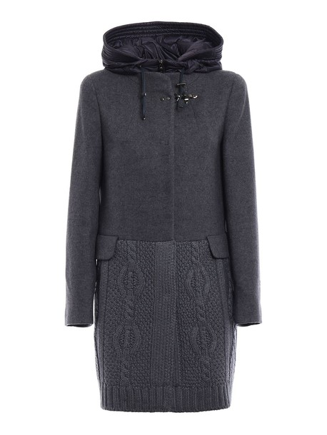 coat wool knit