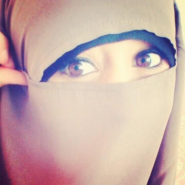 hair accessory jilbab eyes make-up muslim outfit hijab