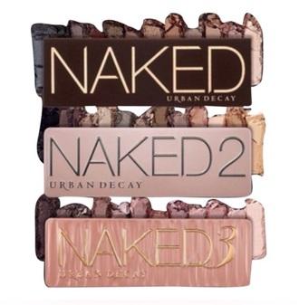 make-up naked palette natural makeup look
