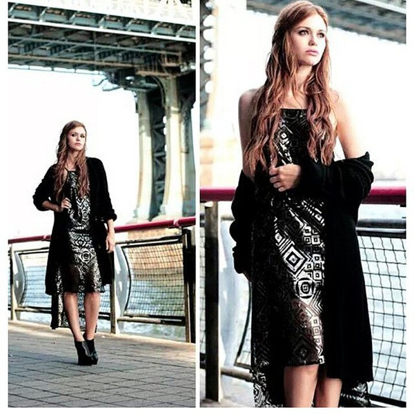 dress fall outfits cardigan holland roden